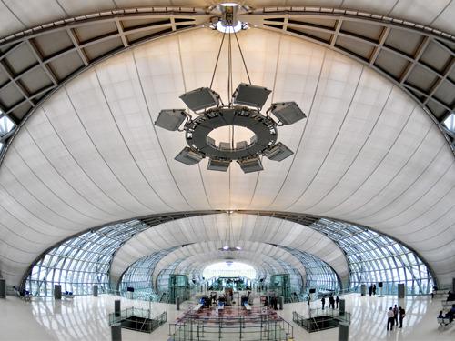 素万那普国际机场→曼谷接机