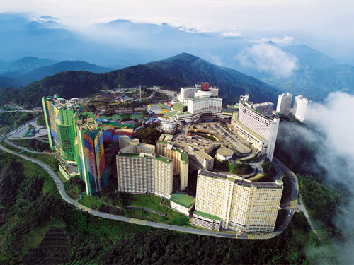 吉隆坡→云顶高原包车一日游