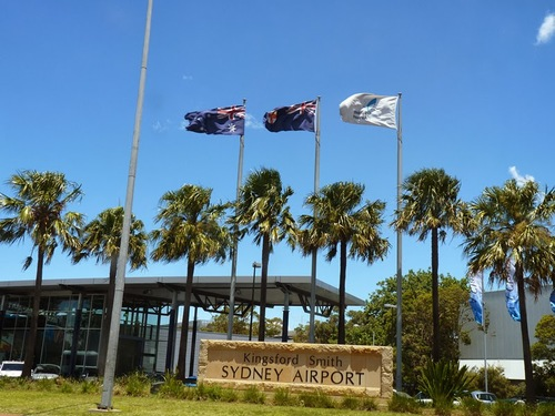 Sydney Airport Pick Up→Sydney CBD